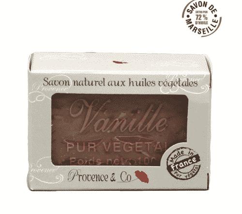 Marseiller Seife - Vanille und Sheabutter - Provence & Co 100 g