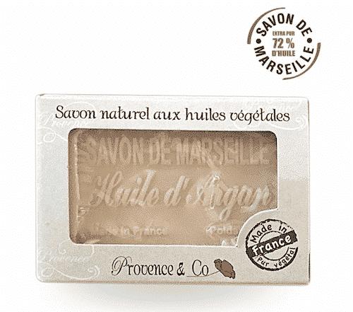 Marseiller Seife mit Arganöl - Provence & Co 100 g