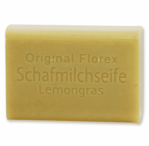 Schafmilchseife Lemongras mit Kräutern - Florex 100 g