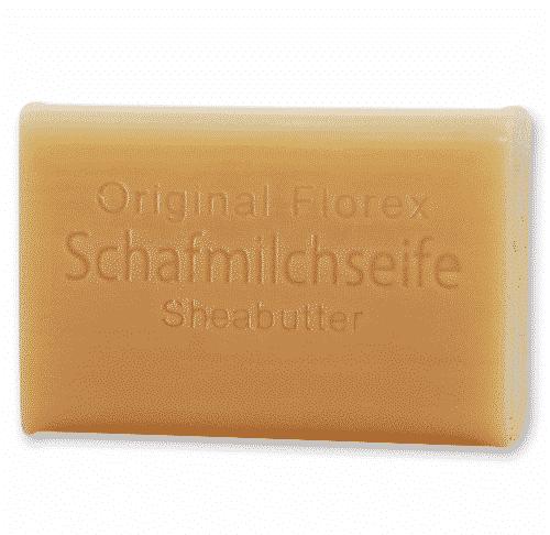 Schafmilchseife mit Sheabutter - ohne Palmöl - Florex 100 g