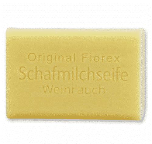 Seife aus bio Schafmilch Weihrauch - Florex 100 g