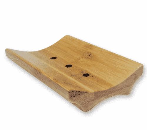 Seifenschale aus Bambus - Florex ca. 11 x 7,5 cm