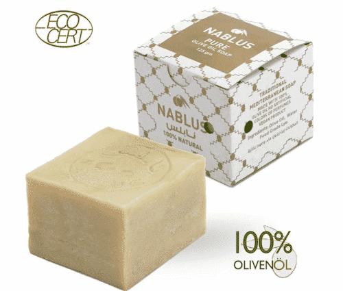 Traditionelle Olivenölseife - Nablus 125 g