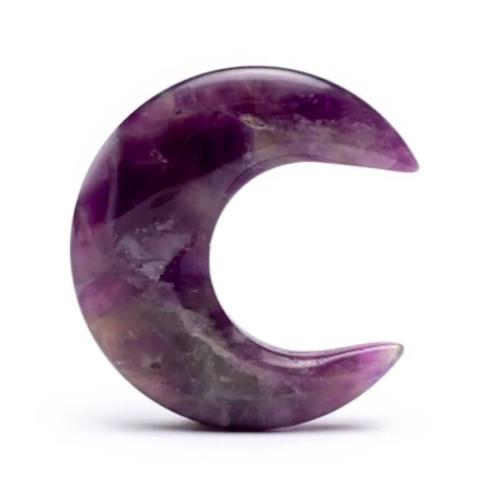 Edelstein Amethyst - Mond