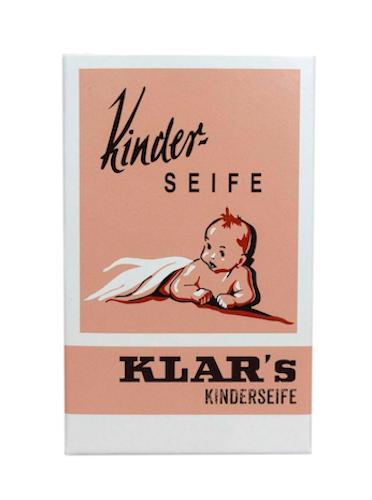 Kinder - Seife palmölfrei - Cosmos zertifiziert - KLAR 100 g