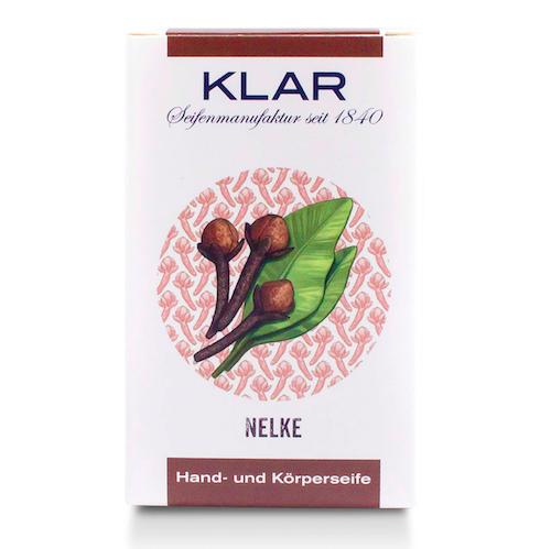 Nelken - Seife palmölfrei - Cosmos zertifiziert - KLAR 100 g