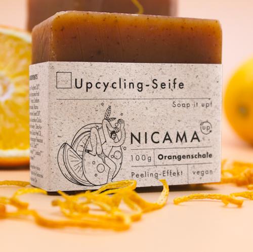Peeling - Seife mit Orangenschale - Upcyclingseife 2