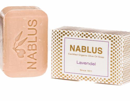 Olivenölseife mit Lavendel - Nablus 100 g
