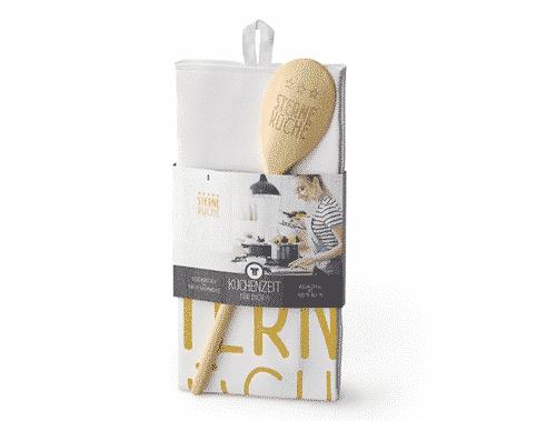 Küchenzeit Sterneküche - Kochlöffel & Geschirrtuch - La Vida