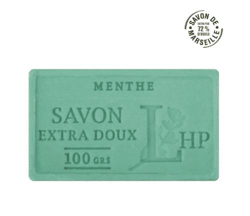 Marseiller Seife mit Minze - LHP 100 g