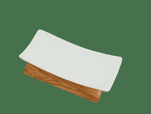 Seifenablage-aus-Olivenholz-und-Porzellan