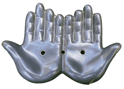 Seifenschale Hände