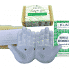 Vegane Pflege III - Seife + Shampoo + Conditioner + Seifenschale