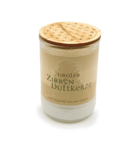 Zirben - Duftkerze - Blume des Lebens - Tiroler Zirbenkissen