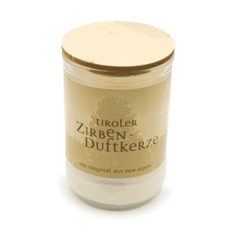 Zirben - Duftkerze - Tiroler Zirbenkissen
