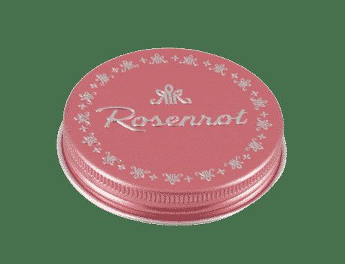 Deckel Rose geschlossen für Bitbox - Rosenrot