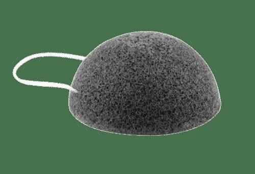 Konjac Schwamm - Bambuskohle - Rosenrot