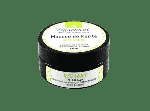Mousse de Karité Gute Laune - Rosenrot 100 ml