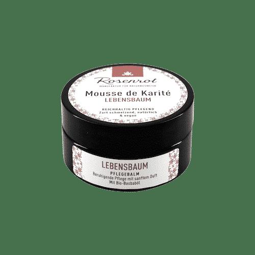 Mousse de Karité Lebensbaum - Rosenrot 100 ml