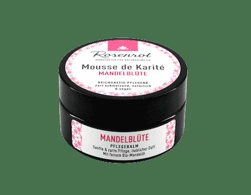 Mousse de Karité Mandelblüte - Rosenrot 100 ml