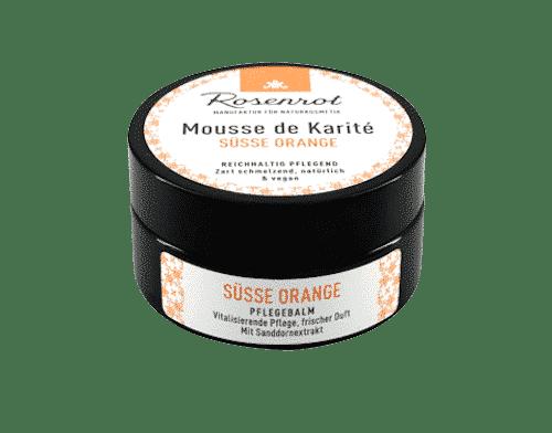 Mousse de Karité süsse Orange - Rosenrot 100 ml