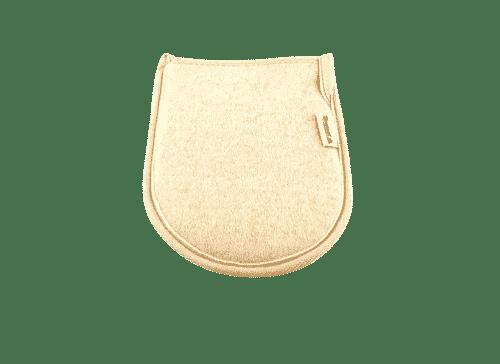 Waschhandschuh aus Luffa - Rosenrot